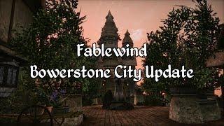 Morrowind Modding Showcases - Fablewind Bowerstone City Update