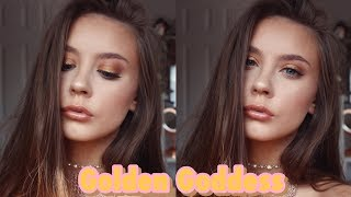 GOLDEN GODDESS | Makeup tutorial