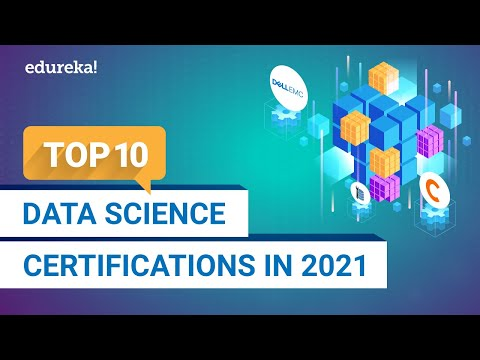 Top 10 Data Science Certifications in 2021 | Best Data Science ...