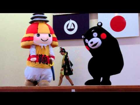 ラジオdeくまモン体操in高森中央小学校②
