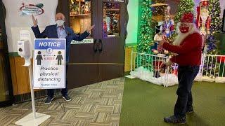 Chuck's Big Adventure in Northern Michigan: Charles W. Howard Santa Claus School