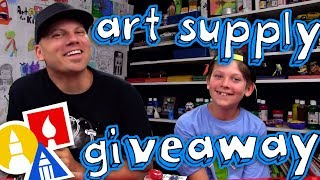 Dolphin Art Supply Giveaway!