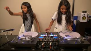 "Amira & Kayla Practicing to J Balvin & Willy William ""Mi Gente"""