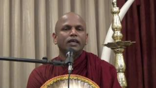 Ven. Kukulpane Suddhassi Thero In Calgary Canada - April 2017