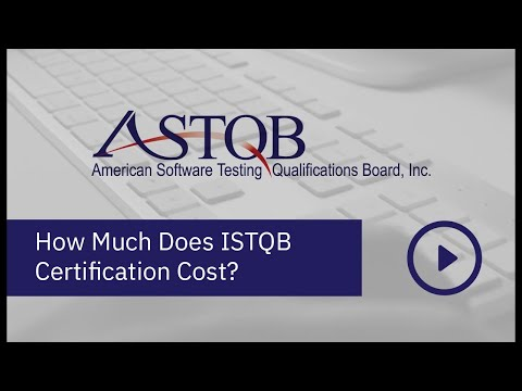 How Much Does ISTQB Certification Cost? - YouTube