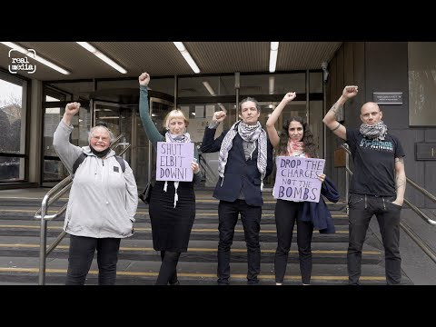 Solidarity protest as Palestine Action activists appear in court