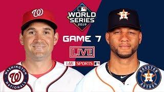 Washington Nationals vs. Houston Astros GAME 7 FULL Highlights - World Series 2019