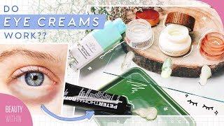 Natural Ways To Reduce Dark Circles & Eye Bags + Truth About Eye Creams