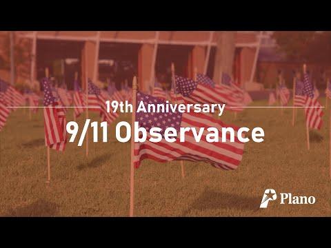 Plano 9/11 Observance: 19th Anniversary of September 11, 2001