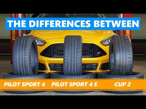 Michelin Pilot Sport 4 vs Pilot Sport 4 S vs Cup 2. The differences tested and explained