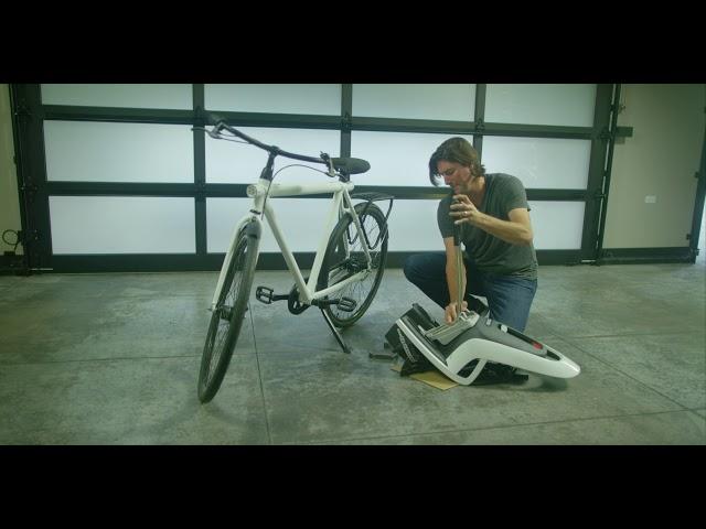 Видео Сидение заднее на багажник Hamax Siesta (Grey w/ Red Padding)