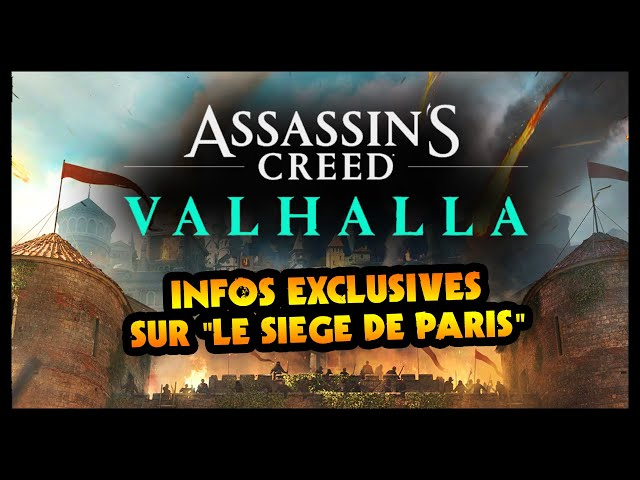 Assassin's Creed Valhalla's 'The Siege of Paris' DLC details allegedly leaked
