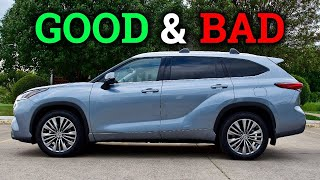 Life With a New 2020 Toyota Highlander | The GOOD & BAD!