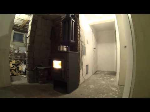 Werkstattofen 2 mit Multiabgasrohr sehr effizient