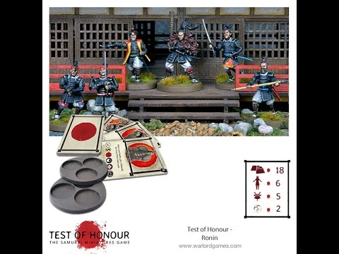 Unboxing - Test Of Honour: Ronin Expansion
