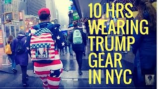 Gambar cover 10 Hours Walking In NYC as a Woman Trump Supporter