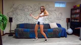 Шикарно танцует!Парни в шоке! Не каждые красотки так смогут! Вот так надо танцевать девушкам! Учись