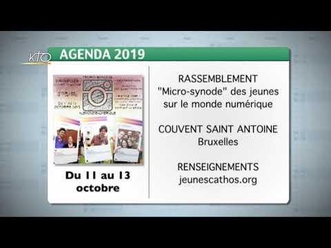 Agenda du 4 octobre 2019