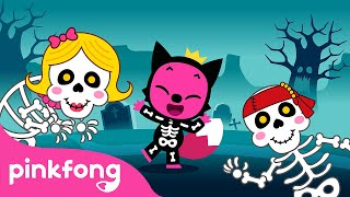 💀The Skeleton Party 🎃Halloween Is Almost Here   Halloween Story Time   Pinkfong Stories for Children