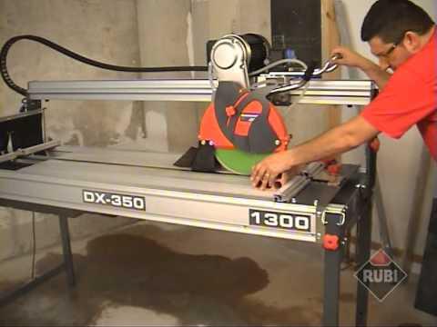 Rubi DX 350 Fliesenschneider und Steinschneidemaschine