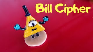 Gravity Falls ➤ Bill Cipher ➤ Polymer clay ➤Tutorial