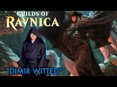 """Guilds of Ravnica: """"Dimir Witted"""" – Exclusive Magic: The Gathering Preview / Spoiler Card!"""