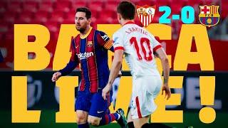 ⚽ BARÇA LIVE | SEVILLA 2-0 BARÇA | Warm up & Match Center | COPA DEL REY SEMI-FINAL 🏆