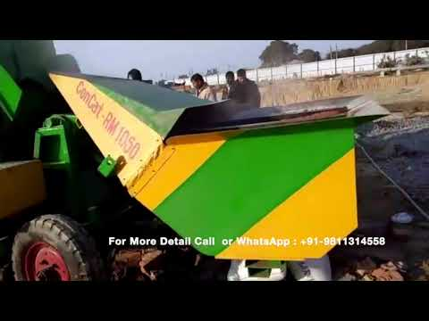 Mini Reversible Semi Automatic Concrete Mixer