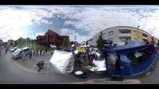 360° Video: Rechter Aufmarsch   Neonazis In Dortmund