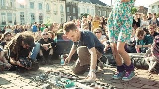 Dub FX feat. Flower Fairy - Full Street Performence live in Gent Belgium