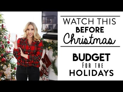 HOW TO STAY ON BUDGET FOR THE HOLIDAYS   Tips and Gifts for Christmas