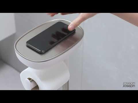 JOSEPH JOSEPH Toilettenbutler EASY STORE BUTLER mit Ablage