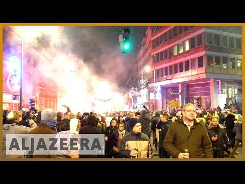 🇷🇸 Protesters push for opposition, media rights in Serbia | Al Jazeera English