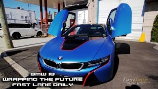 BMW i8 Wrapping the Future Spotlight