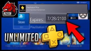 HOW TO GET UNLIMITED PLAYSTATION PLUS FOR FREE! (EASY/FAST/NO CREDIT CARDS)