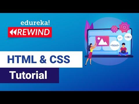 HTML CSS Tutorial for Beginners   Web Development Rewind - 1
