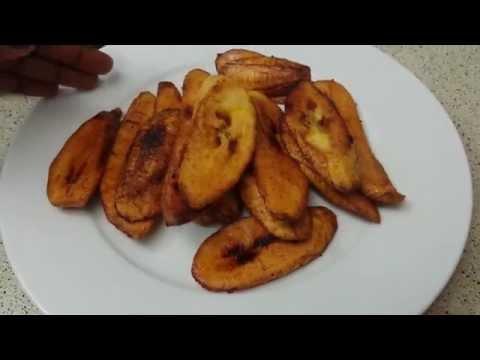 How to make fried plantain aka dodo