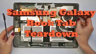 "Samsung Galaxy Book Tab 12"" Wi-Fi SM-W720 Teardown Full Disassembly Screen LCD Replacement Guide"