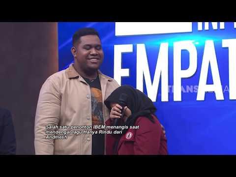 "Penonton NANGIS Dengar Lagu ""Hanya Rindu"" Andmesh | INI BARU EMPAT MATA (13/01/20) Part 4"