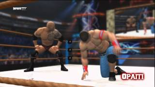 wwe john cena vs the rock full match wrestlemania 28 - TH-Clip