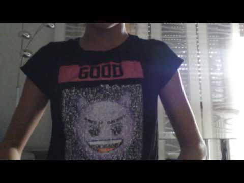 Coole T-shirt die Emotionen zeigen/wechseln