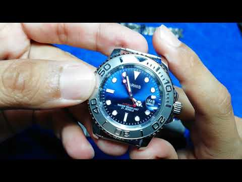 Parnis Yacht Master Homage watch full review