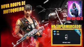 NOVO EVENTO COM ROUPA DE MOTOQUEIRO, BARBA NO SUPERMERCADO, DINO ANGELICAL BUGADO NO SUPERMERCADO!