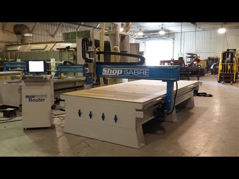 20. ShopSabre CNC: IS408 CNC Router & Mozaik's Operator Feature!video thumb
