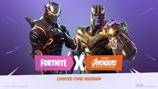 Trailer Infinity Gauntlet Limited Time Mashup