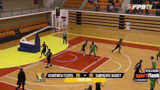 Proliga   Académica/Efapel - Sampaense Basket