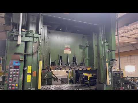 400 ton Niagara BP2-400-72-42 Straight Side Press