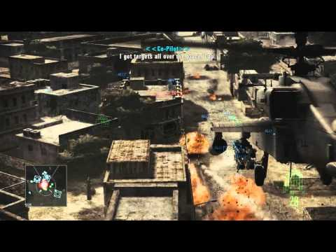 Ace Combat: Assault Horizon Helicopter Assault Trailers Revealed
