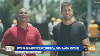 VIDEO: Local State Farm agent stars in national commercial
