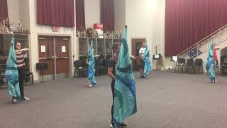 Moana - Youre Welcome-RCHS Color Guard Routine
